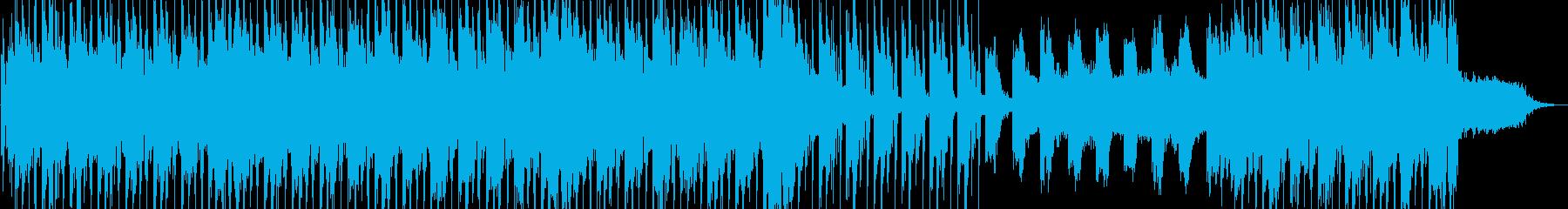 モダンでローファイな雰囲気のミュージックの再生済みの波形