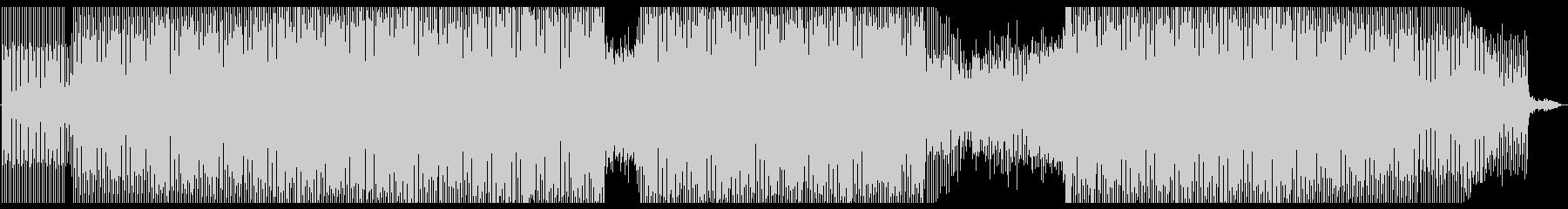 不穏な感じのミニマル・テクノの未再生の波形