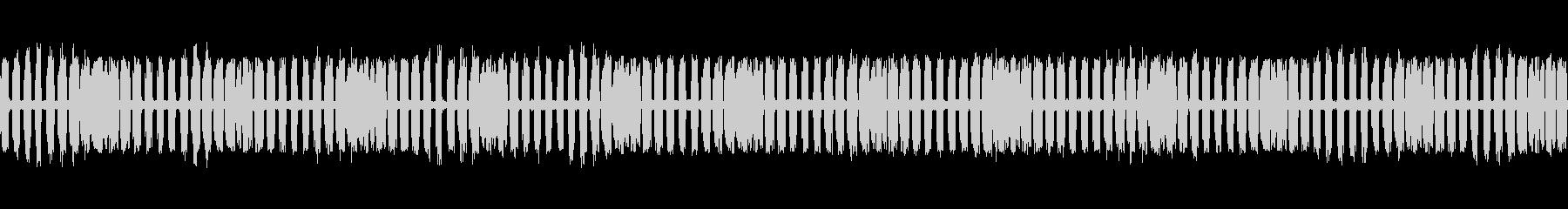 【生録音】秋の虫たちが鳴く音4 ループの未再生の波形