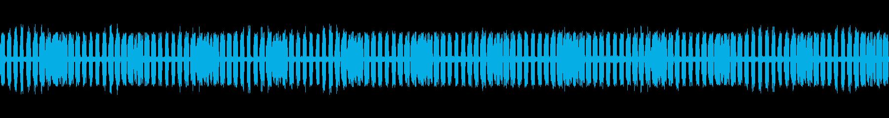 【生録音】秋の虫たちが鳴く音4 ループの再生済みの波形