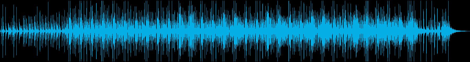 テンポの良い陽気な南国レゲエサウンドの再生済みの波形