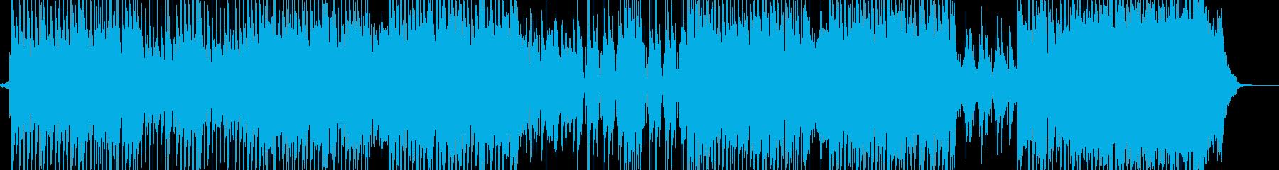 スリラーシンセ・テクノ ホルン・ギター無の再生済みの波形