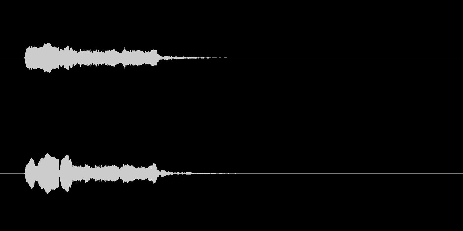 木製パイプ、「オリエント/エキゾチ...の未再生の波形