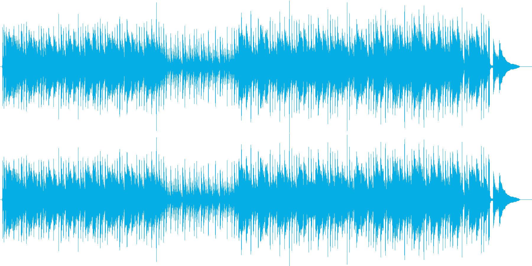 明るいアコギ ピクニック ハイキング 山の再生済みの波形