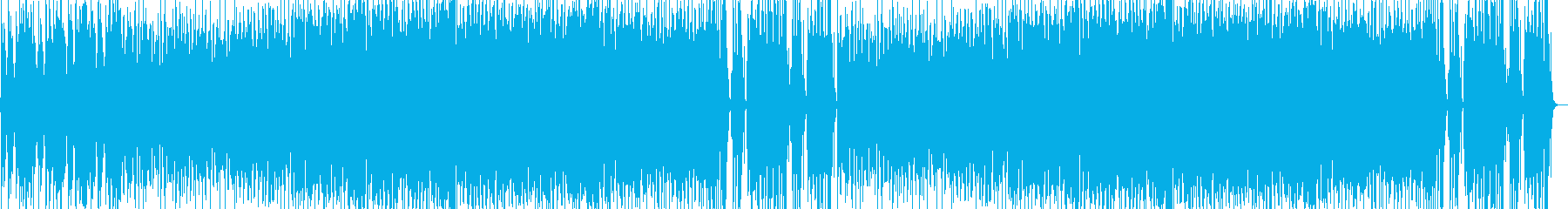 Fun celtic music's reproduced waveform