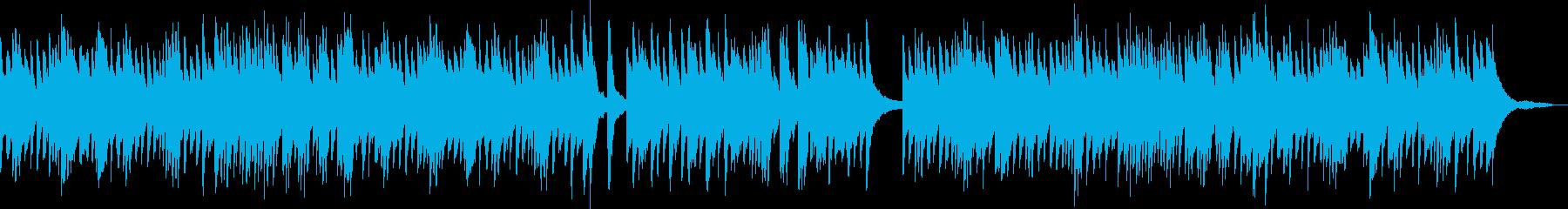 三拍子の少しほのぼのとしたピアノバラードの再生済みの波形