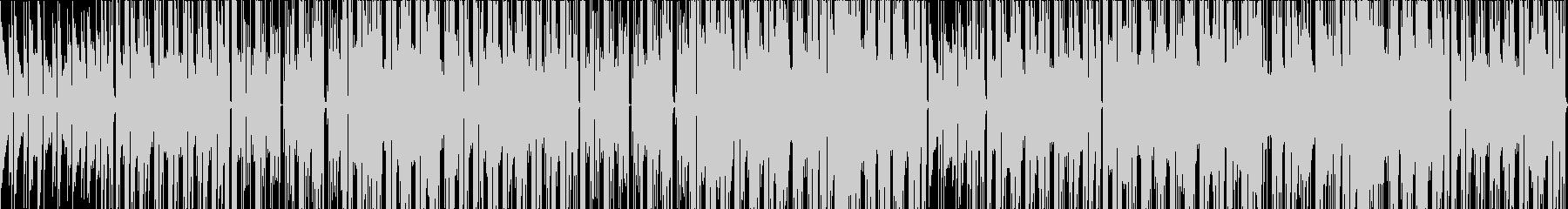 エレピ、切ない系シティーポップの未再生の波形