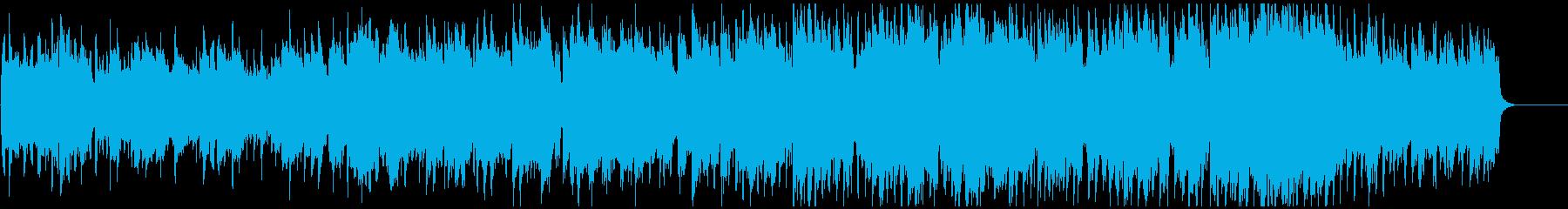 オープニング映像向け優雅なポップインストの再生済みの波形