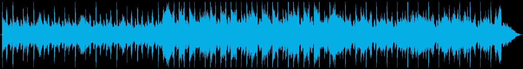 無機質でエモを感じるBGMの再生済みの波形