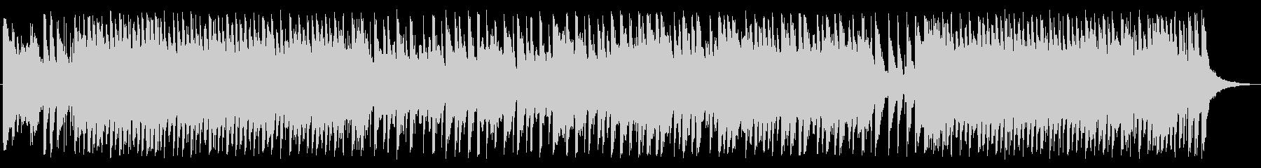 明るい音色のディスコビートの未再生の波形