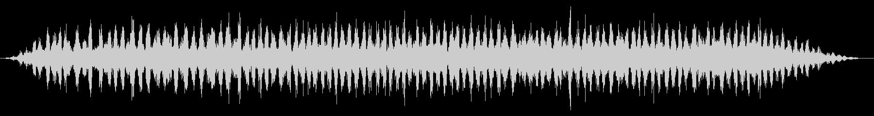 カエル/田舎/梅雨(20秒Ver.)の未再生の波形