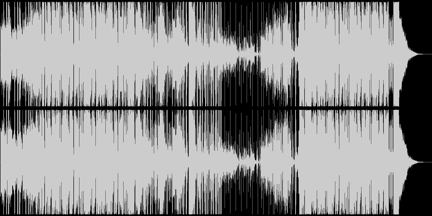 アジアン音階のHipHop調BGMの未再生の波形
