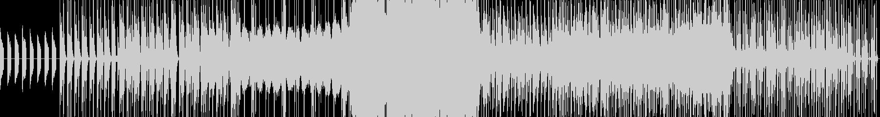 ピアノとストリングスの劇伴風テーマ曲の未再生の波形