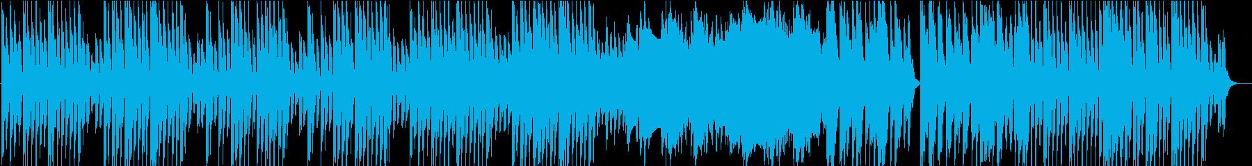 幻想的でミステリアスなファンタジーの再生済みの波形