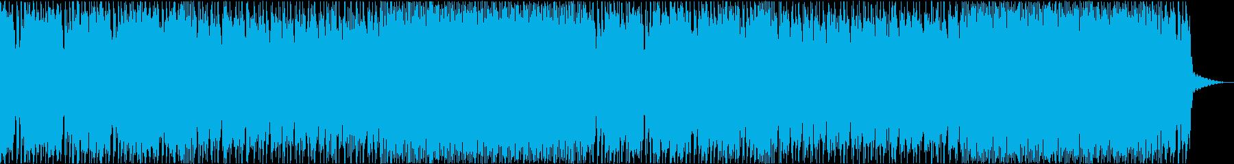 某プロレスソングをオマージュしたインストの再生済みの波形