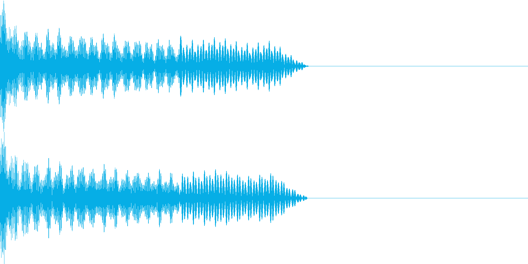 UI系 カーソル移動 ティロの再生済みの波形