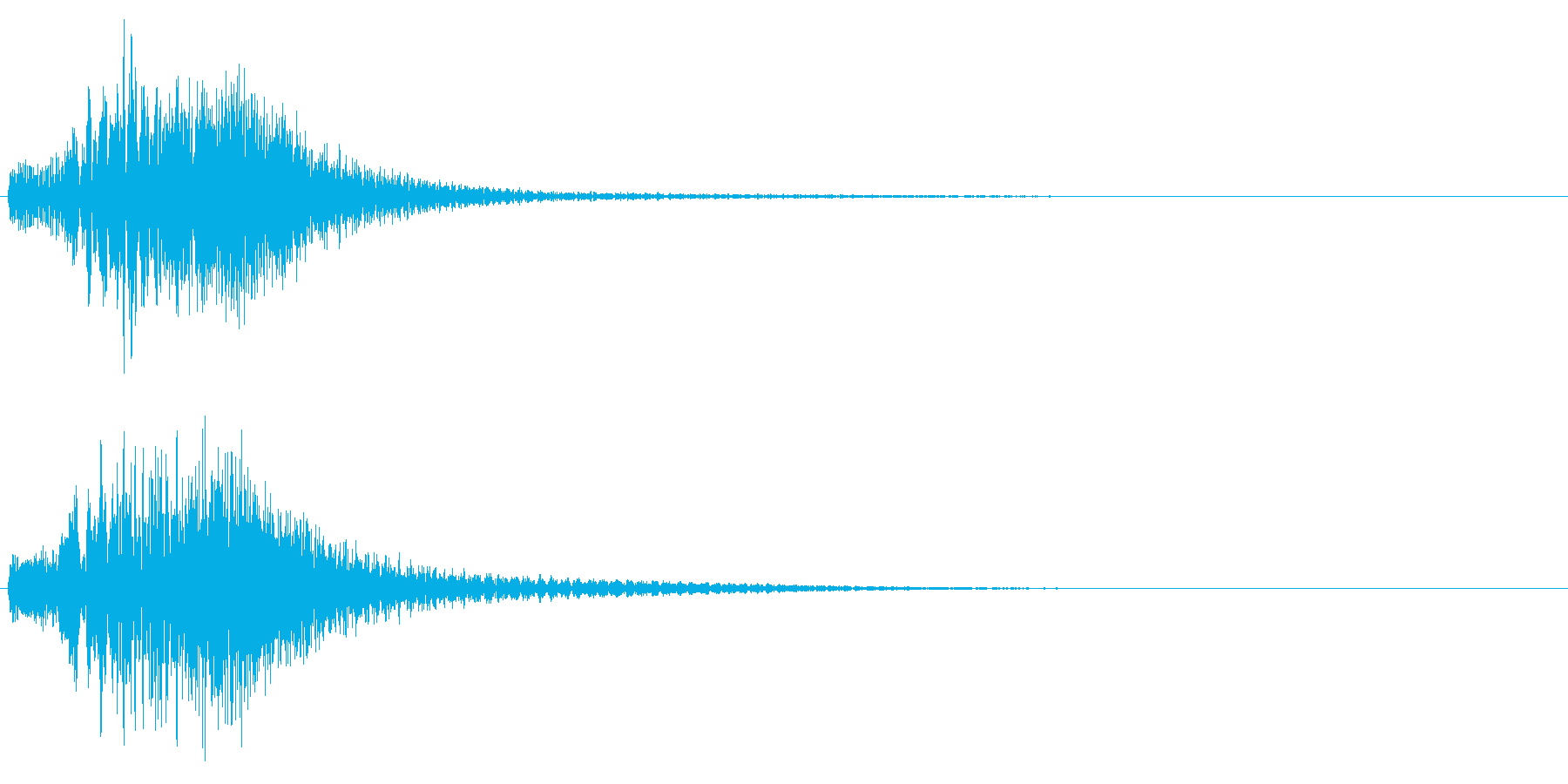 ハープ使用華麗なキラキラ上昇音 変身転換の再生済みの波形