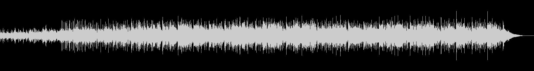 ライブ配信のテーマ曲としてBGMの未再生の波形