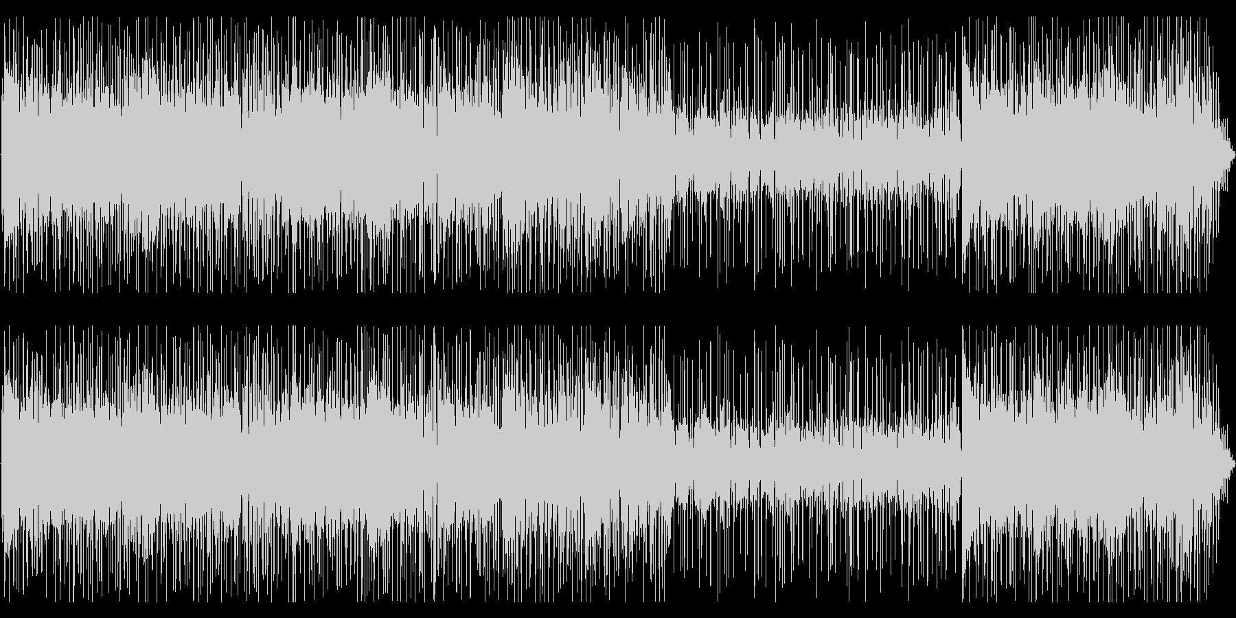FunkRock、クール、ちょいワルの未再生の波形
