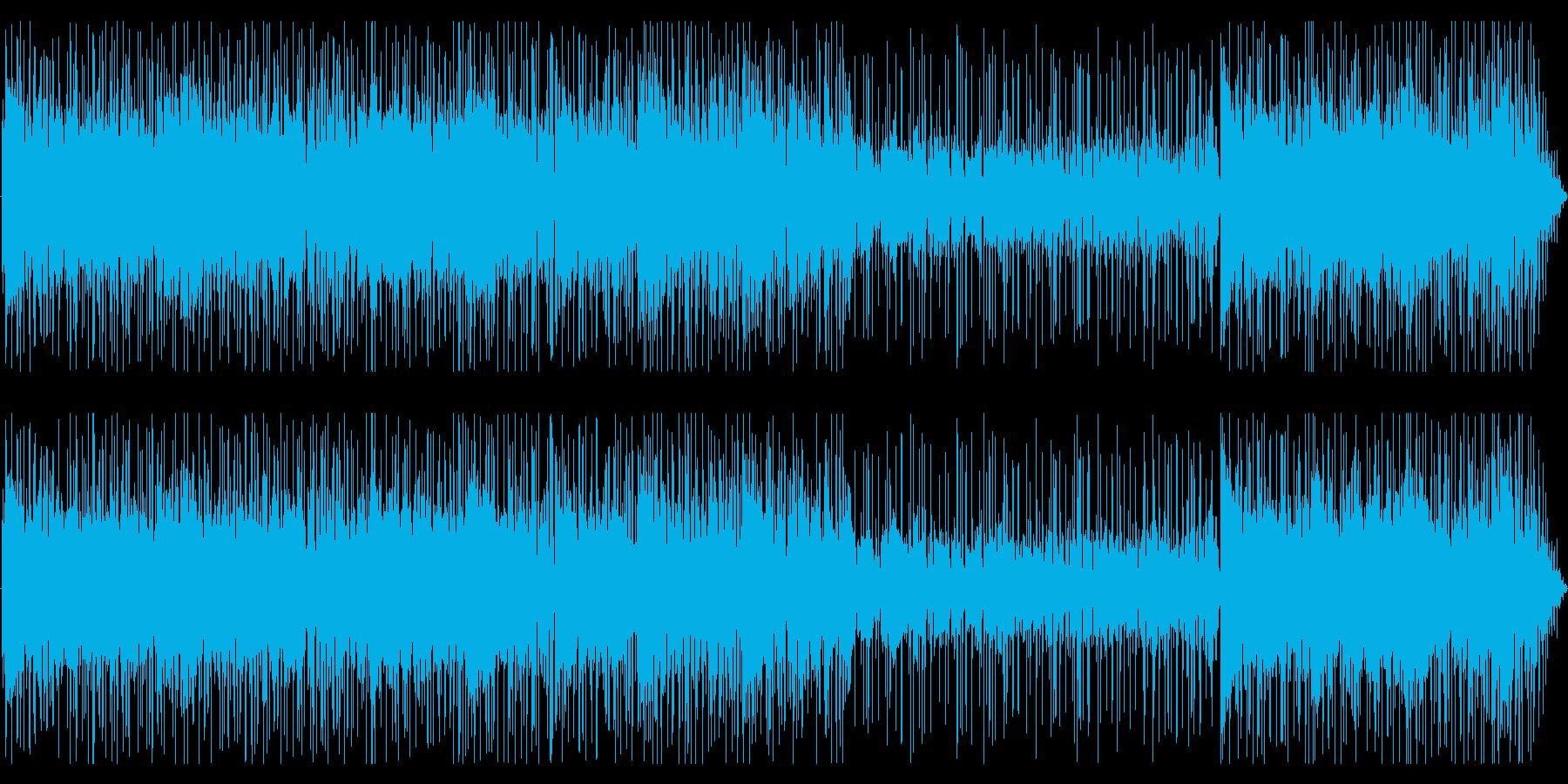 FunkRock、クール、ちょいワルの再生済みの波形