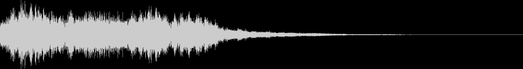 オープニング用・アイコン・サウンドロゴの未再生の波形