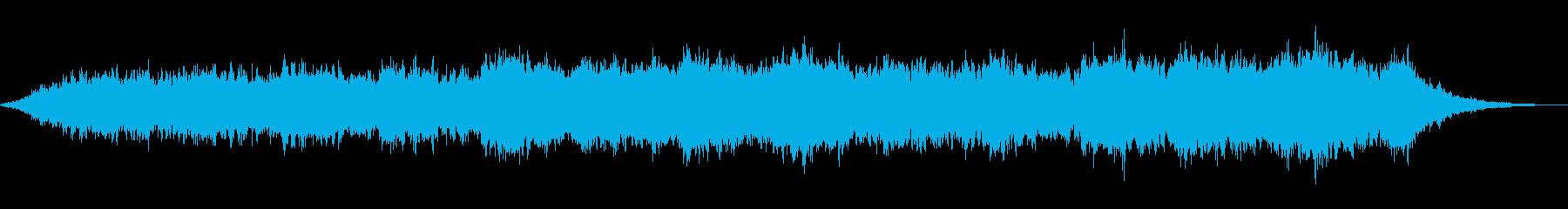 ヒーリング向けドリーミーなアンビエントの再生済みの波形