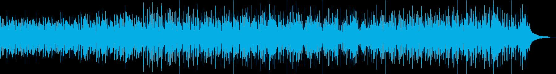 アコギと口笛のほのぼのした曲の再生済みの波形
