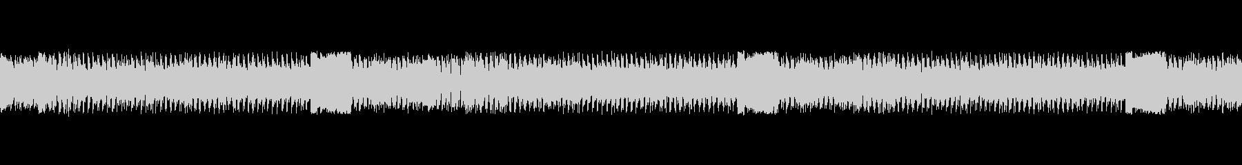 怪獣登場風の曲の未再生の波形