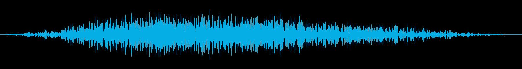 ミステリアススペーススイープ2の再生済みの波形
