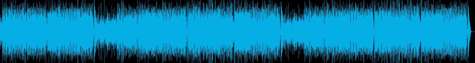 ベルとアコギのテンポの良いPOPS の再生済みの波形