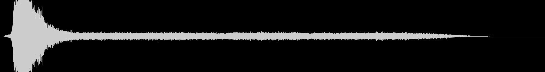 RPG系魔法詠唱イメージ音02の未再生の波形