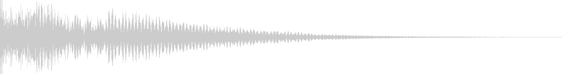 カジノ リール停止音(エジプト音階)の未再生の波形