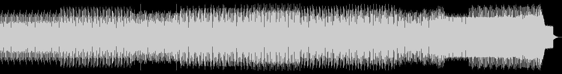 ループミュージック!しっとりとしたハウスの未再生の波形