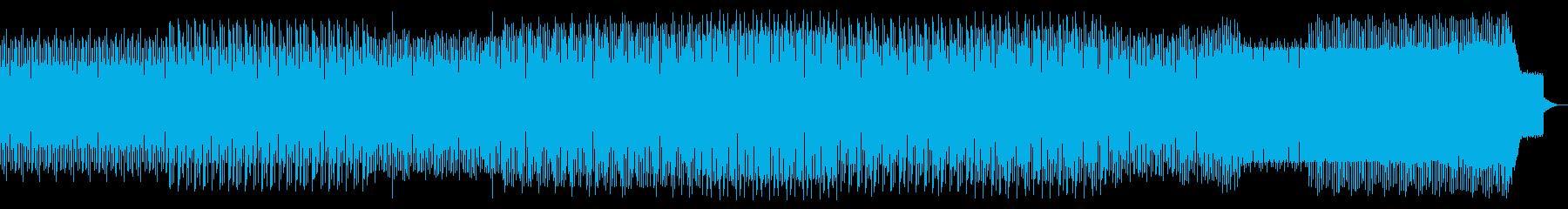 ループミュージック!しっとりとしたハウスの再生済みの波形