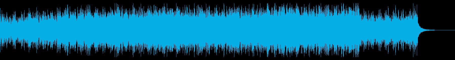 アコギとシンセのダークで悲しい曲の再生済みの波形