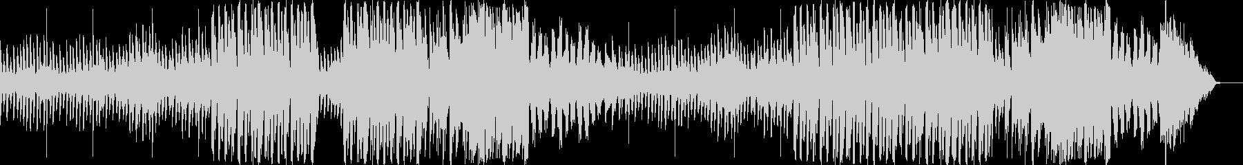 切ない雰囲気が特徴のピアノ曲の未再生の波形