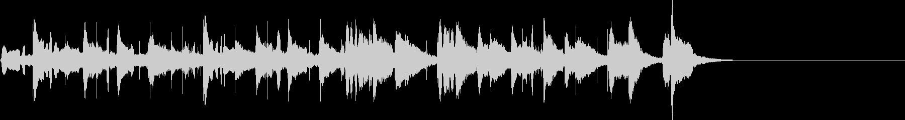 ハッピバースデー~タンゴ風の未再生の波形
