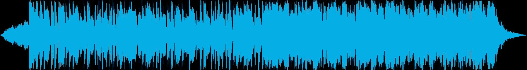 動画 アクション 技術的な ハイテ...の再生済みの波形