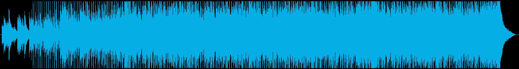 【ショート】温かい・感動・壮大ポップスの再生済みの波形
