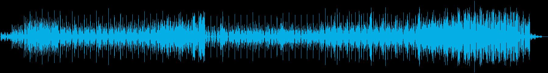 真夏に適したホラー要素入れたBGMの再生済みの波形