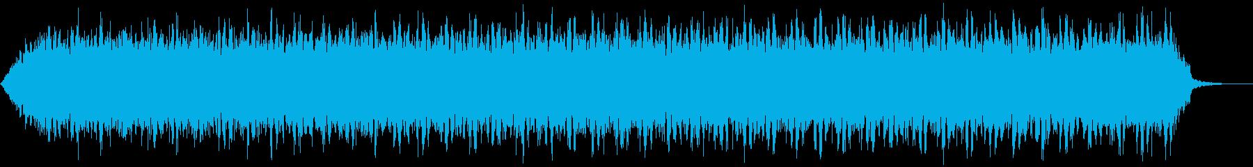 【アンビエント】ドローン_36 実験音の再生済みの波形