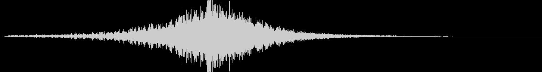 映画告知音151 ドーンの未再生の波形