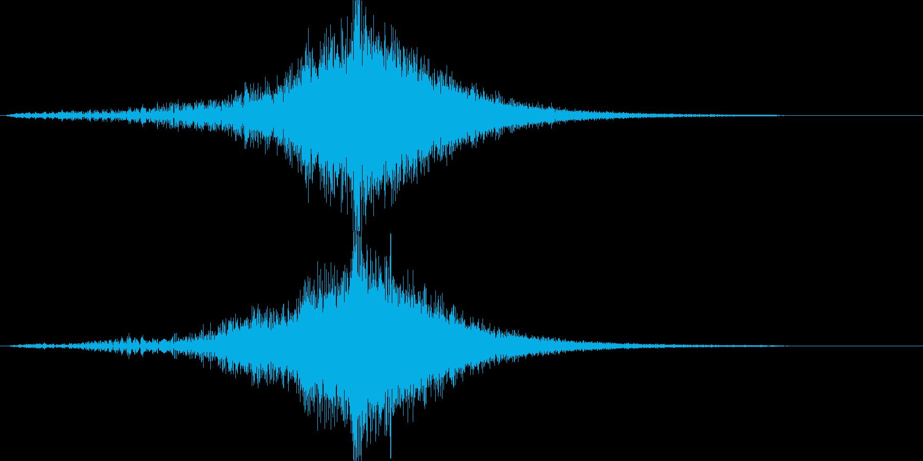 映画告知音151 ドーンの再生済みの波形
