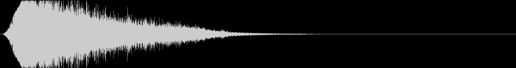 音楽スティンガー;巨大なSFオーケ...の未再生の波形