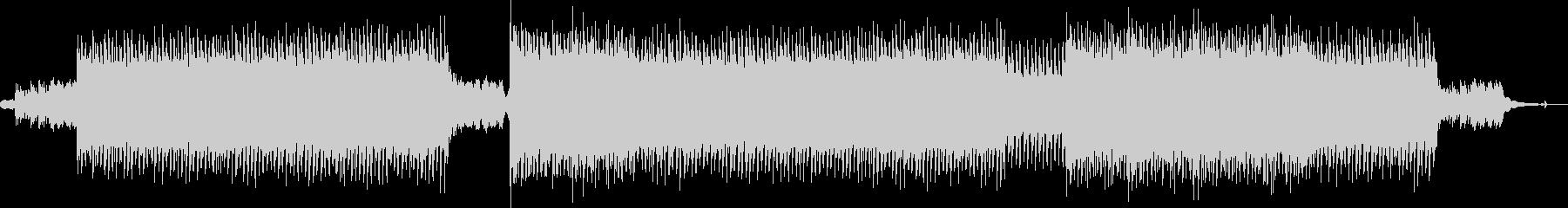 CMに お洒落なフォークポップ/EDMの未再生の波形