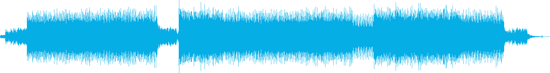 CMに お洒落なフォークポップ/EDMの再生済みの波形