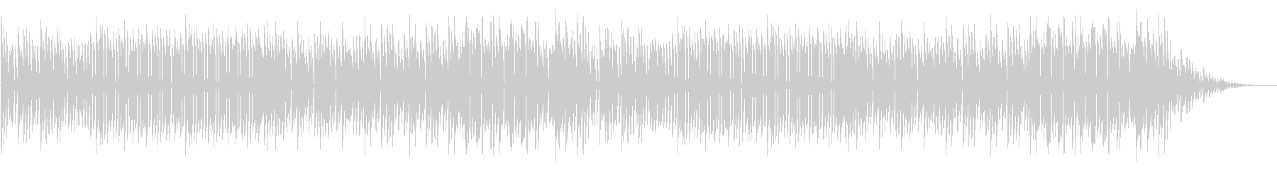 GB風アクションゲームのステージ曲の未再生の波形
