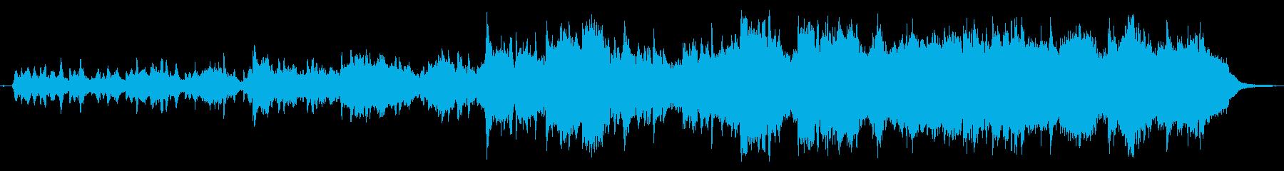 伝統的なフォークミュージックの再生済みの波形