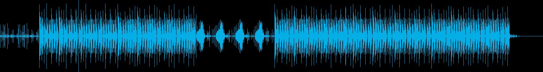 おしゃれ・シンプル・EDM・空気感2の再生済みの波形