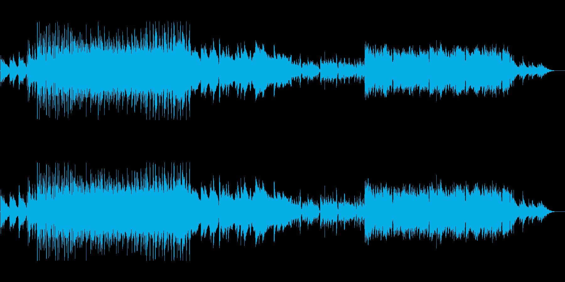 朝の目覚めにあうブリティッシュ的ロックの再生済みの波形
